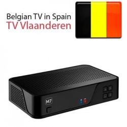 Receptor oficial TV VLAANDEREN Bélgica