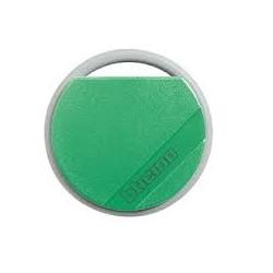 Llave transponder verde.