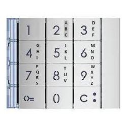 Frontal alfanumérico para módulo teclado 353000.