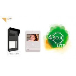 GOLMAR Kit de vídeo de 1 línea S5110/ART 4 LITE