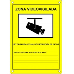 Placa Señalización DEM-281