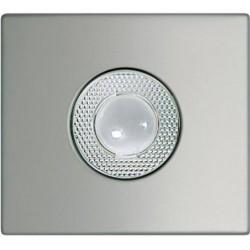 Frontal para telecámara orientable Aluminio.