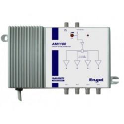 Multicentral reamplificadora de potencia 4 centrales de 122dBuV en 1
