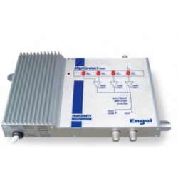 Central multibanda BdI/III-FM-UHF-UHF, 33/50 dB, 122dBuV