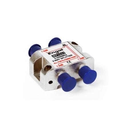 Distribuidor estándar de 3 vías (5-2400Mhz) - paso DC/22Khz