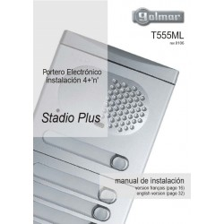 Manual Serie Stadio Plus 4+N